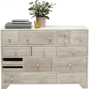 Vivid Blanche Contemporary chest of drawers dresser sideboard 14 drawers