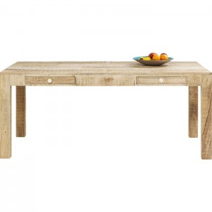 Vivid Sahara Contemporary Mango Wood Dining Table 1.8m 6-8 seater