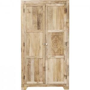Vivid Sahara Contemporary Mango Wood Cabinet Wardrobe Cupboard