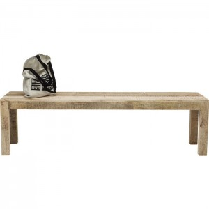 Vivid Sahara Contemporary Mango Wood Dining Bench Seat 160x45cm